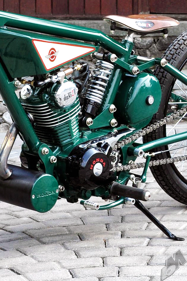 indonesian gl100 bobber - motor detail | dariztdesign