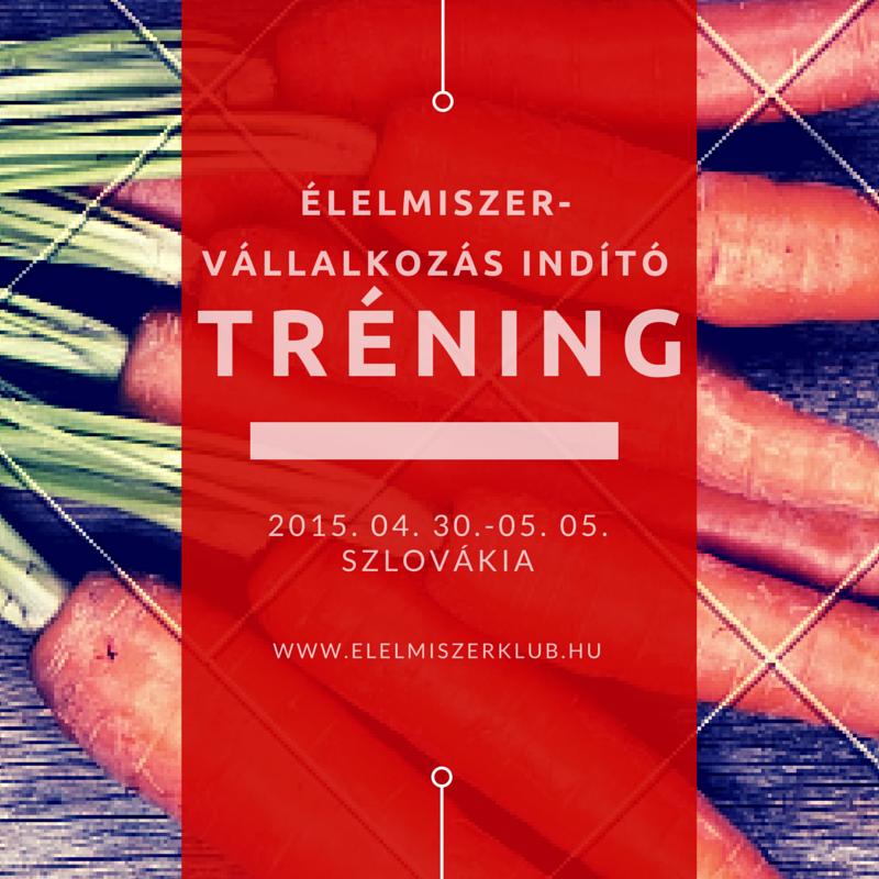 Élelmiszervállalkozás-indító tréning fiataloknak Szlovákiában