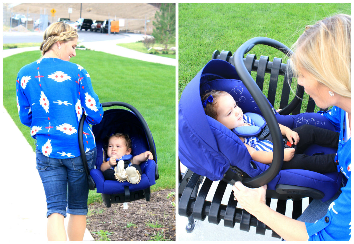 The flip-out canopy visor offers extra UV protection to keep Janey away from the sun. The Maxi-Cosi ...  sc 1 st  House of Jade Interiors Blog & Maxi-Cosi Mico AP Car Seat Giveaway - House of Jade Interiors Blog