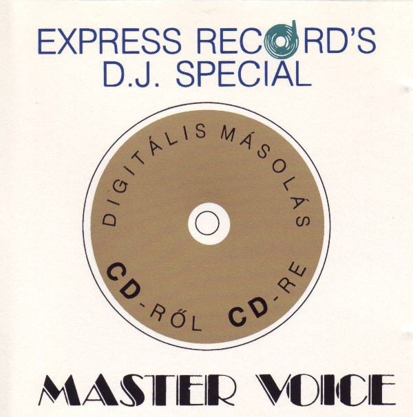 Cover Album of Master Voice - Master Voice (1993)