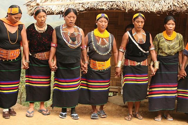 Dress Of Nagaland