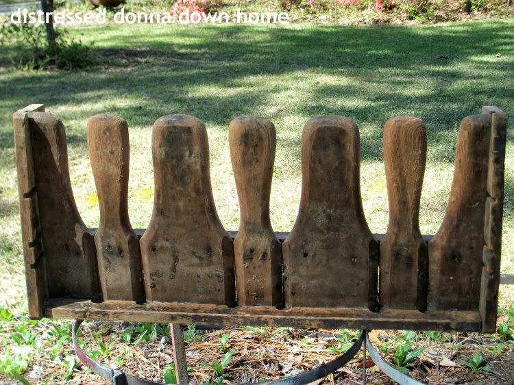 Primitive pelt stretcher, vintage finds, thrift shopping, giveaway prize