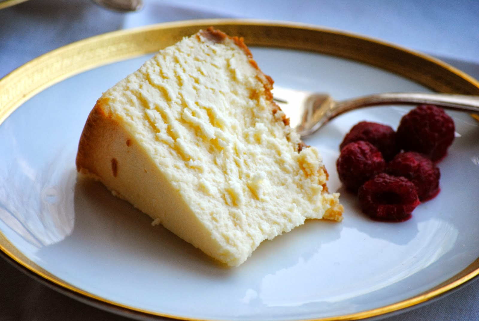 Bakeaway with Me: Ricotta Cheesecake