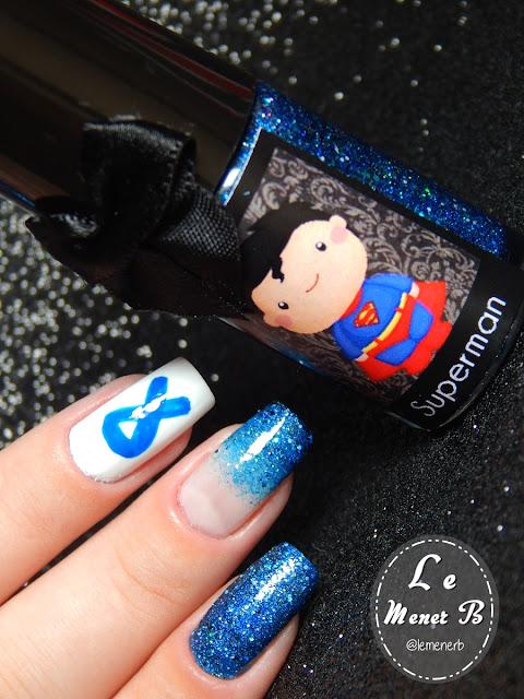 novembro azul nail art