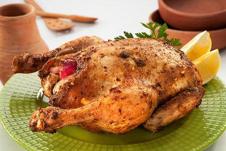 دجاج بالبهارات