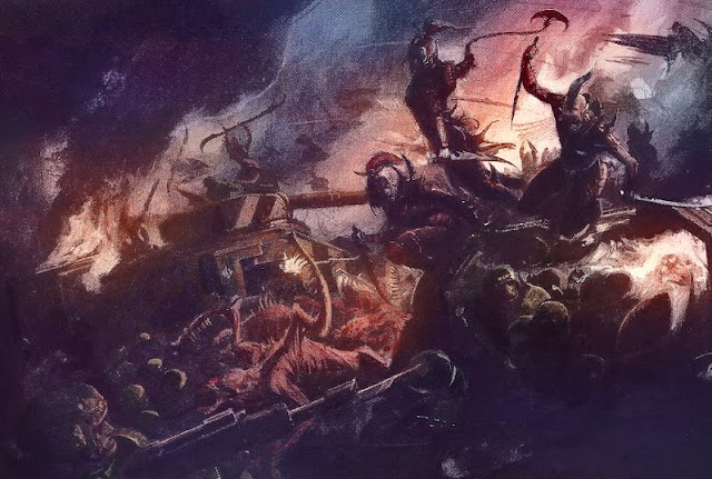 Beasts, Nightfighting, and Warlords in 6th Edition