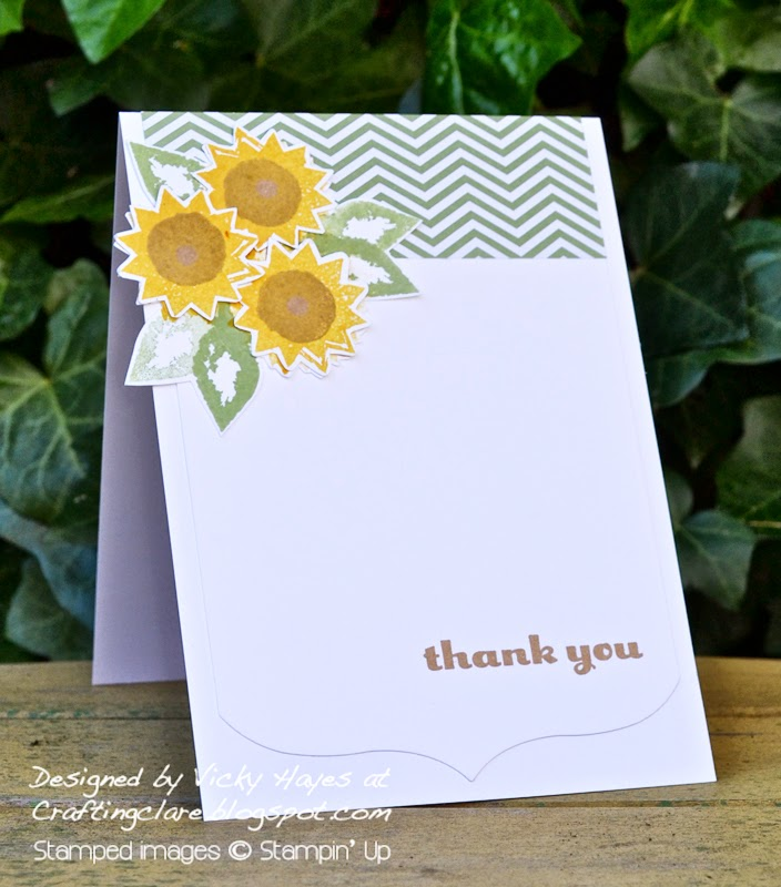 Free stampin up photopolymer stamp sets available from my Crafting Clare online shop
