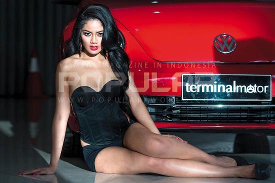 Ayudhya Larasati, model cover POPULAR-World Edisi September 2014