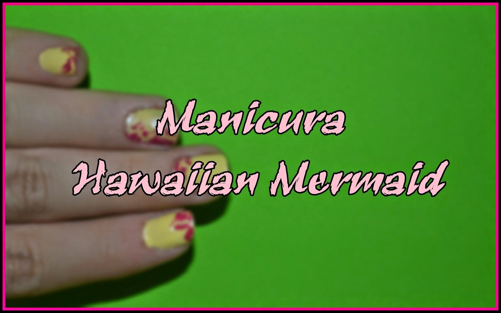 Manicura Hawaiian Mermaid