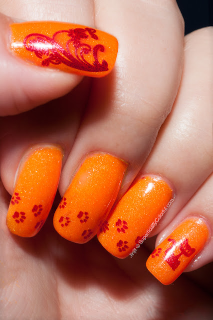 Shimmer Jelly Orange The Nail Junkie