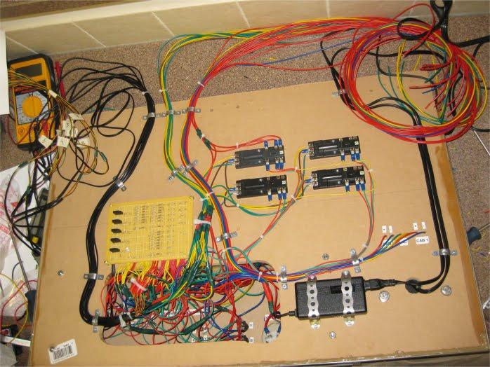 Model Train Wiring Diagrams : Escala n celaya cablear una maqueta en dcc
