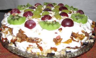 Фруктовый тортик