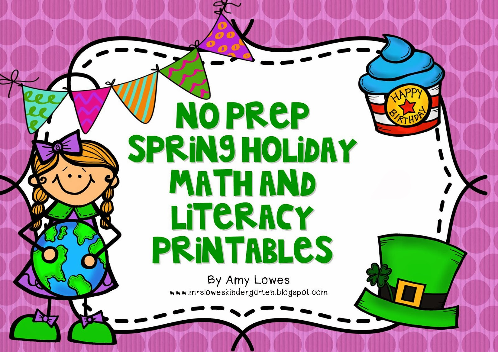 http://www.teacherspayteachers.com/Product/No-Prep-Spring-Holiday-Math-and-Literacy-Printables-1119492