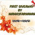 FIRST GIVEAWAY BY MAMA3FARHANAH
