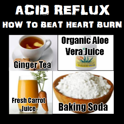 acid reflux home treatment