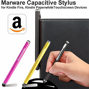 The Marware Stylus provides a smooth, pen-like writing or drawing experience directly on your tablet display.