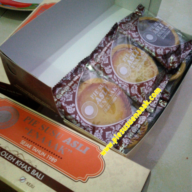 Jual Pie Susu Bali Cap Enak