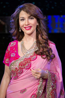 madhuri dixit wax statue at madame tussauds glamour  images