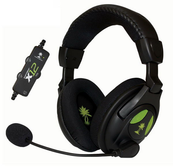 Ear Force X12 Gaming Headset and Amplified Stereo Sound.