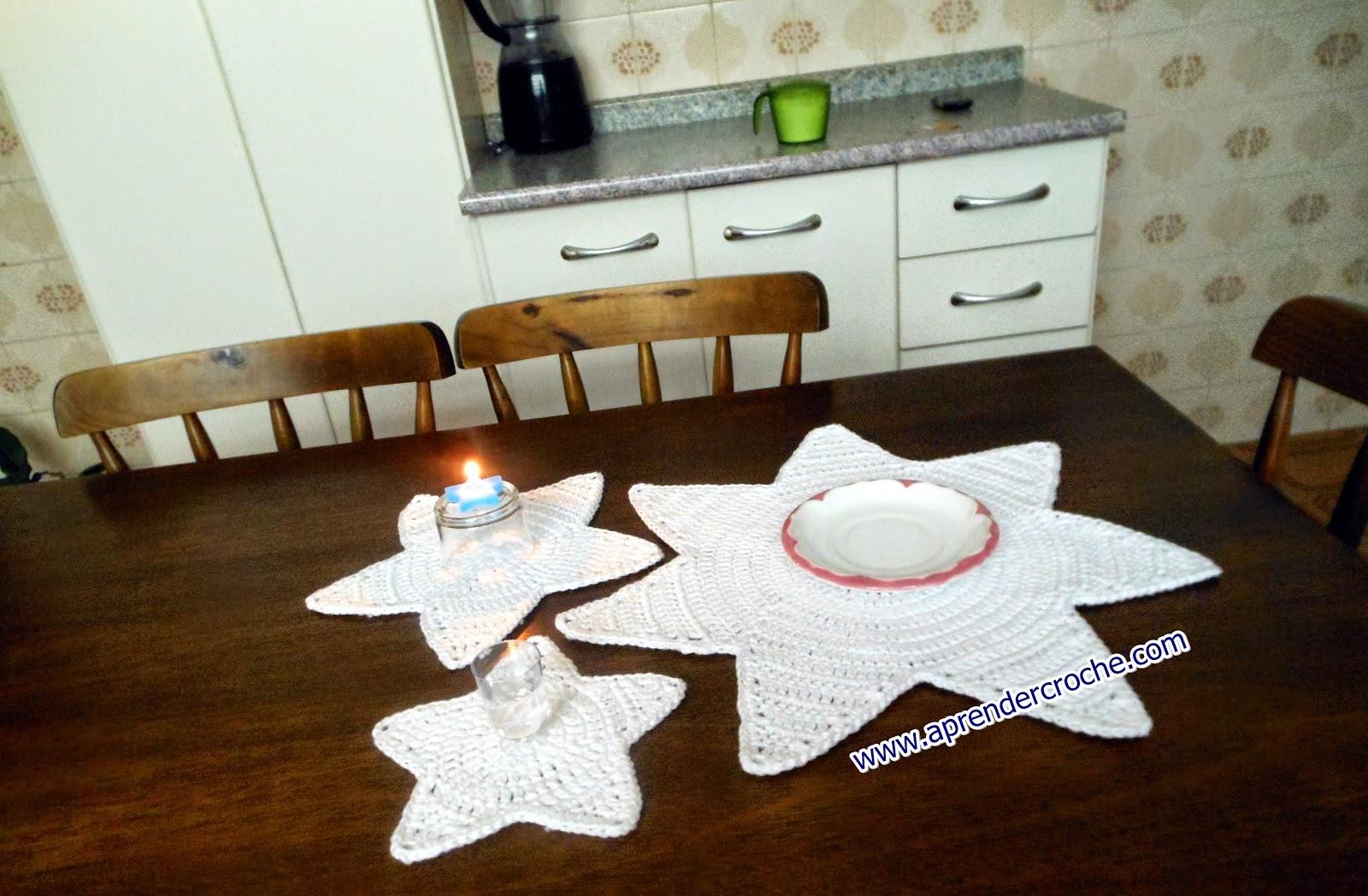 aprender croche estrelas americanos réveillon mesa edinir-croche loja dvd video-aulas curso de croche frete gratis