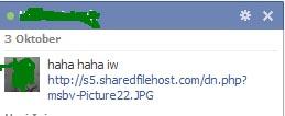 Virus chat FB