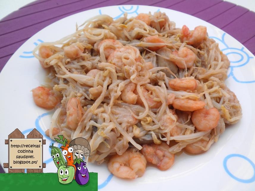 Chop Suey de Camarão