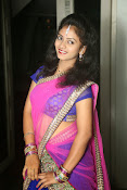 Young actress Jaya Harika in half saree-thumbnail-12