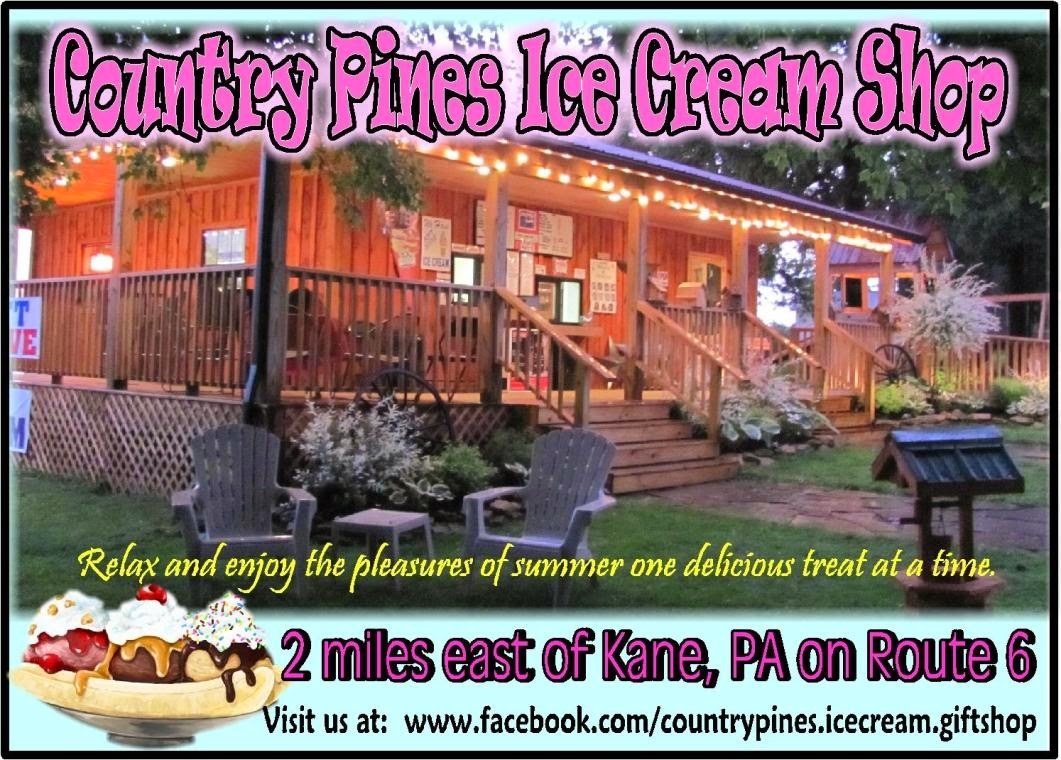 Country Pines Ice Cream Shop