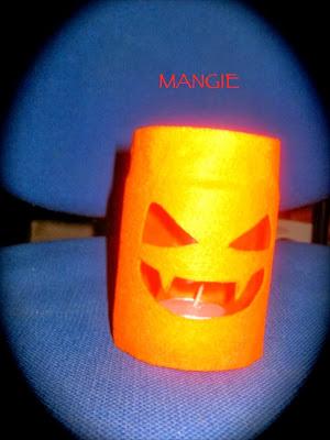 Luminaria calabaza halloween