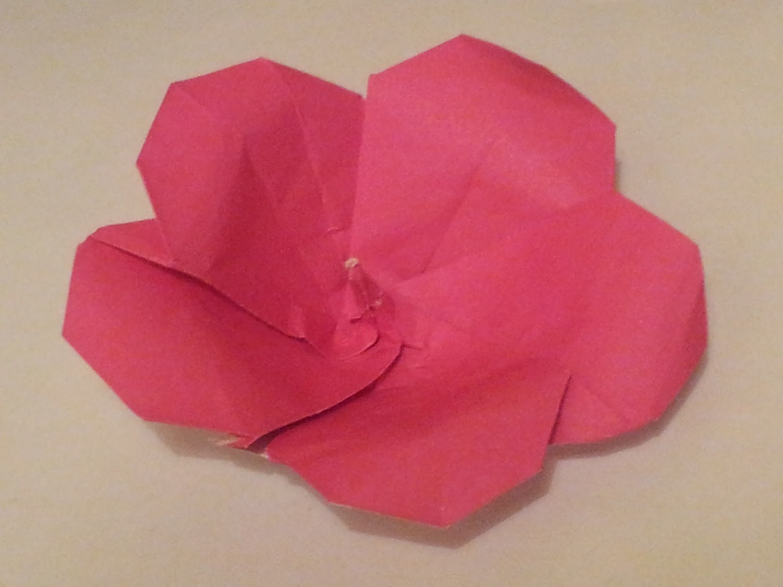 Making Origami Flowers Hibiscus And Lily Origami