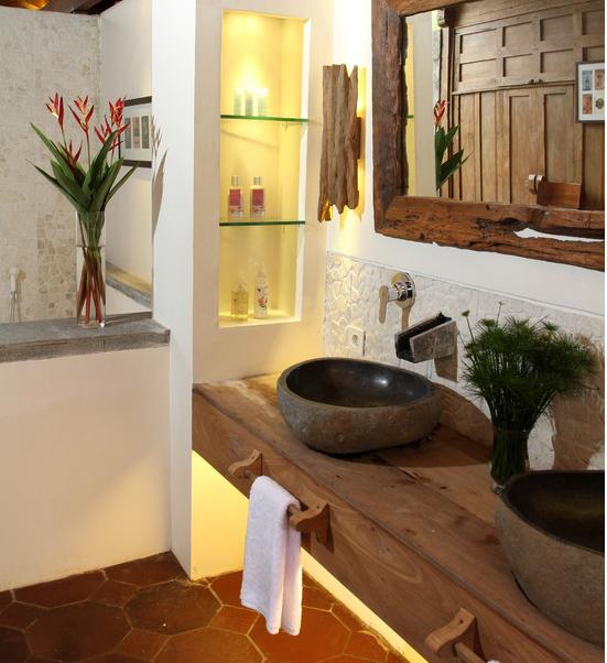 Art de renovar banheiros rusticos for Lavabos para restaurantes