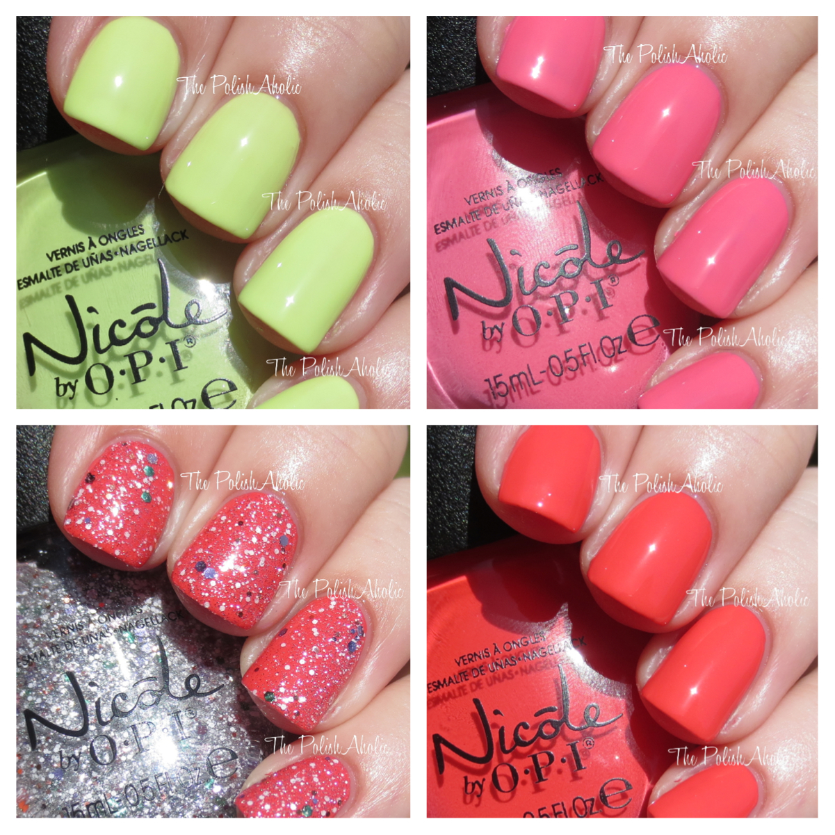 The PolishAholic: Nicole by OPI Summer 2014 Seize The Summer ...
