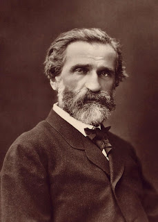 Giuseppe Verdi, photographed in about 1870