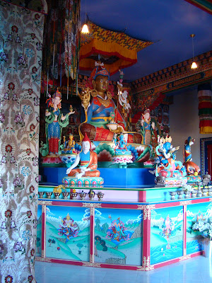 Esculturas e Tankas Tibetanas