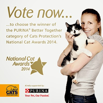 PURINA® Better Together category in our National Cat Awards 2014