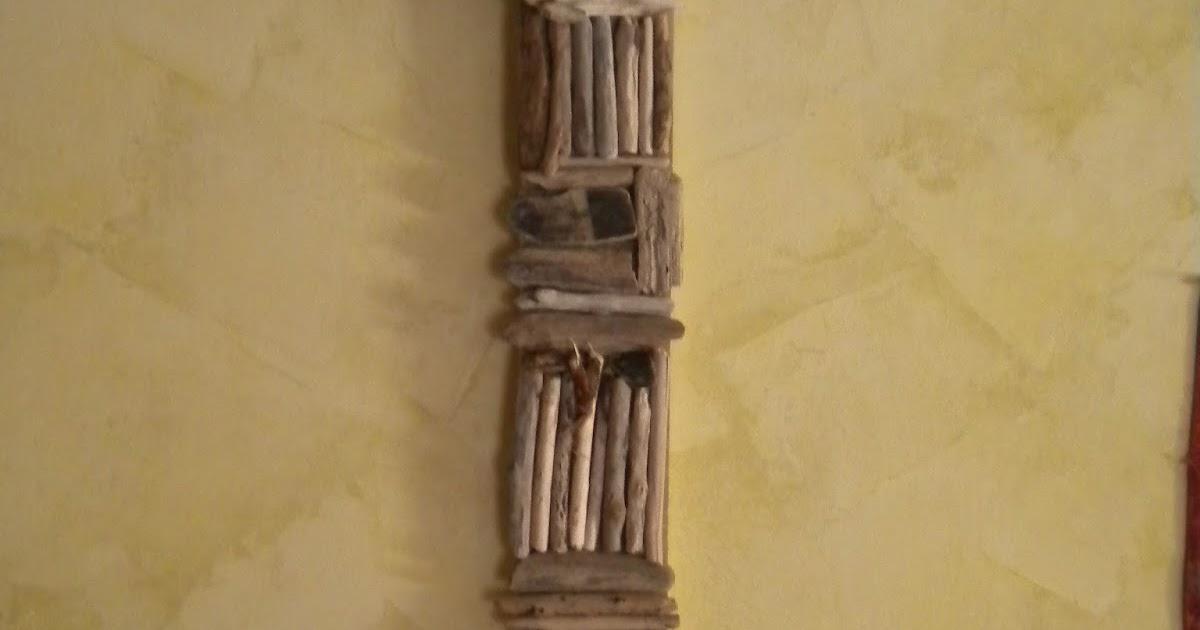 Latelierdepec tableau 3d en bois flotte for Tableau sur bois flotte