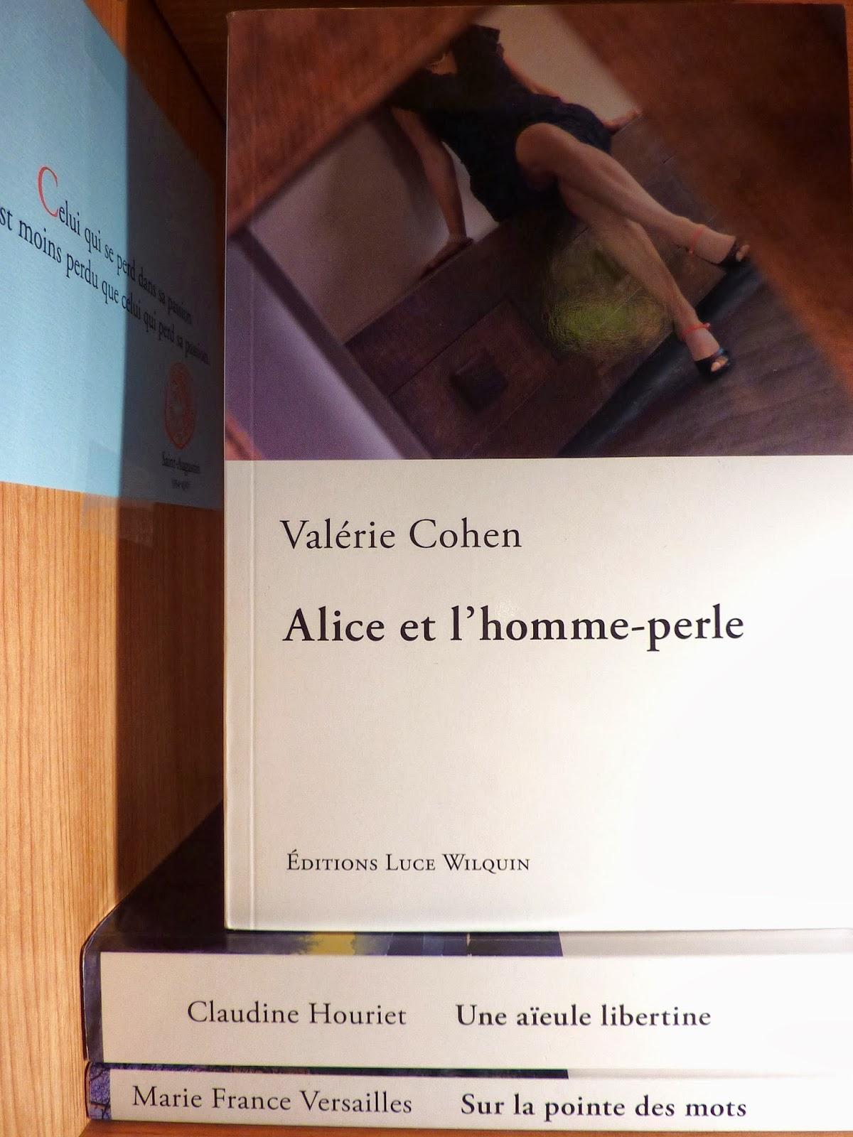 Alice et l'homme-perle - Valérie Cohen