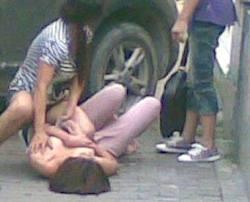 Video Duel dua remaja Putri | Memalukan ...!!!