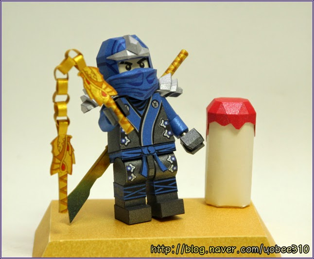 Lego Ninjago Papercraft - Jay