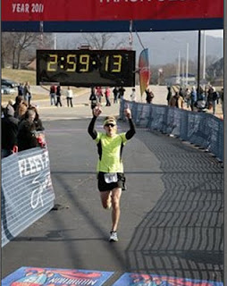 This is what a sub-3 looks like.  :)