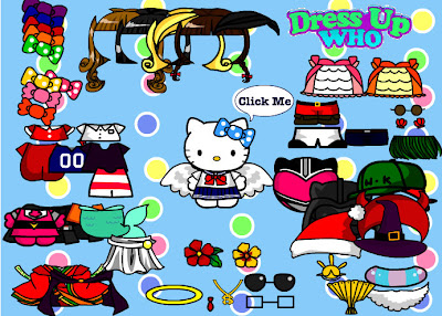 Hello Kitty Dressing Up Online Game