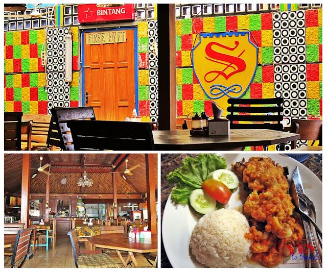 Superman Restaurant Yogyakarta Indonesia