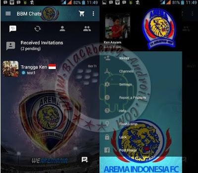 BBM2 Mod Tema Arema Malang Indonesia Terbaru v2.10.0.31 Apk Clone