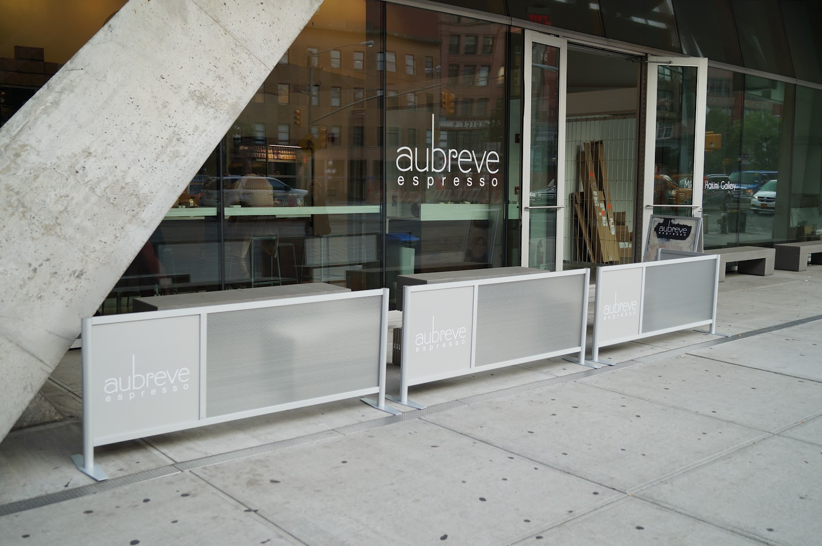 Sidewalk Cafe Barriers, NYC, New York City, Cafe Barriers, Restaurant  Barriers,