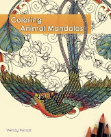 Coloring Animal Mandalas by Wendy Piersall