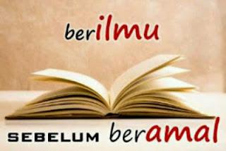 Kewajiban Menuntut Ilmu Pengetahuan Tentang Islam
