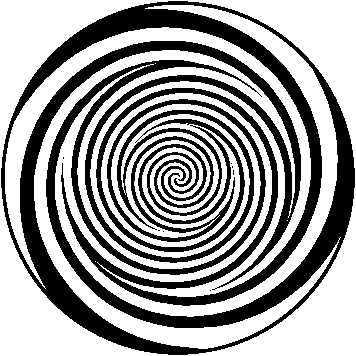 Crawling Spiral Optical Illusion