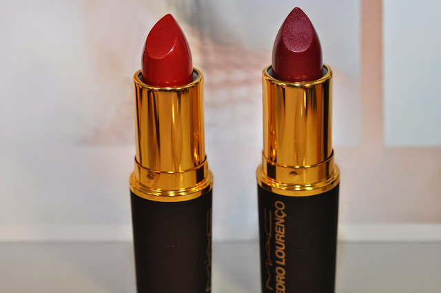 MAC Ruby and Roxo lipsticks