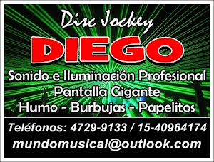 Disc Jockey Diego