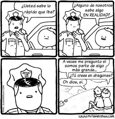 Evadir a la policía meme